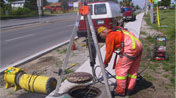 Preparing a ManHole for MarineCoat