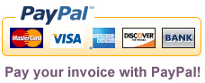 Pay your invoice with PayPal